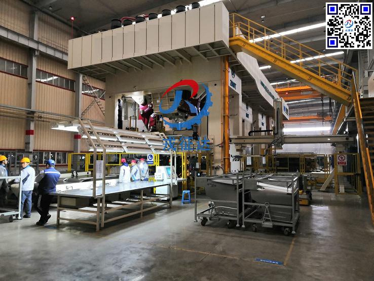 多工位自动化冲压生产线